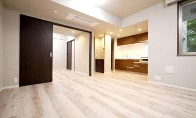 キッチンと洗面室を繋ぐ便利な家事動線