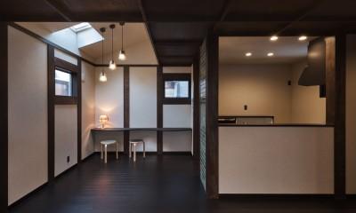 宇治の家 (ダイニング・キッチン)