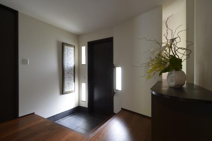 玄関事例:ハレの玄関(朝比奈山荘 〜なつかしさとあたらしさと、いまそこにあるリゾート〜)