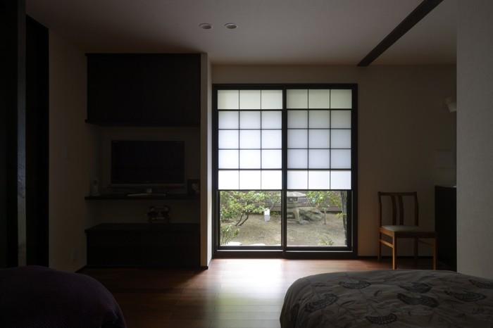 朝比奈山荘 〜なつかしさとあたらしさと、いまそこにあるリゾート〜 (親世帯の寝室)