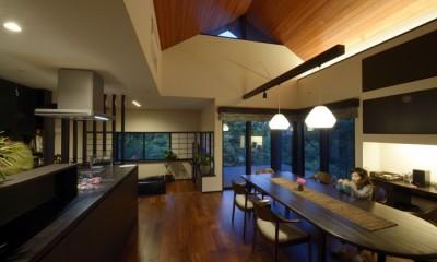 黄昏時のL・D・K|朝比奈山荘 〜なつかしさとあたらしさと、いまそこにあるリゾート〜