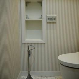 建売戸建てをラグジュアリーなプライベートサロンに (トイレ)