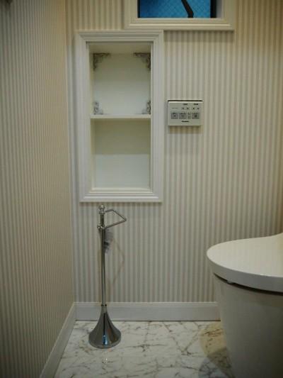 トイレ (建売戸建てをラグジュアリーなプライベートサロンに)