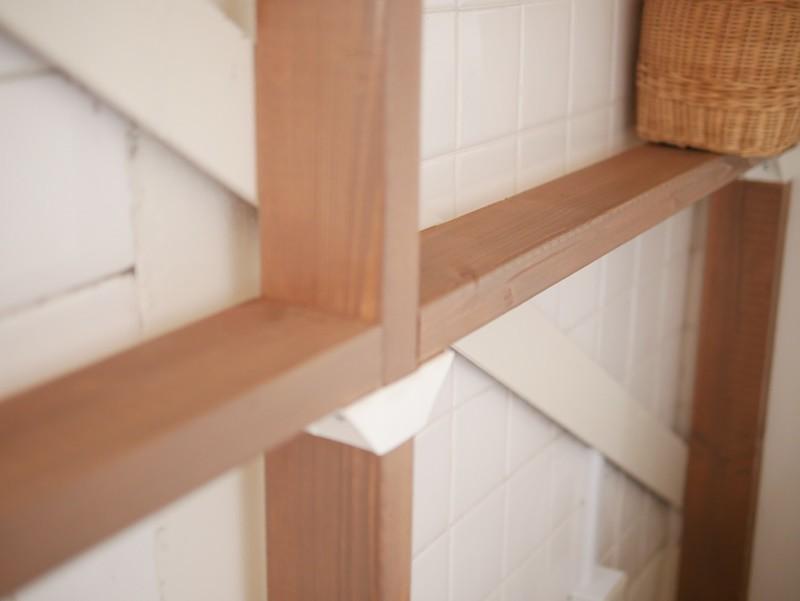 バス/トイレ事例:トイレの壁面にラブリコ(築50年の事務所ビル改修でセミナー・イベントに使えるフリースペースに)