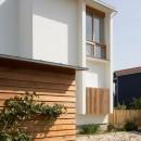 堀之内の家/北欧家具に囲まれて過ごす家の写真 北側外観