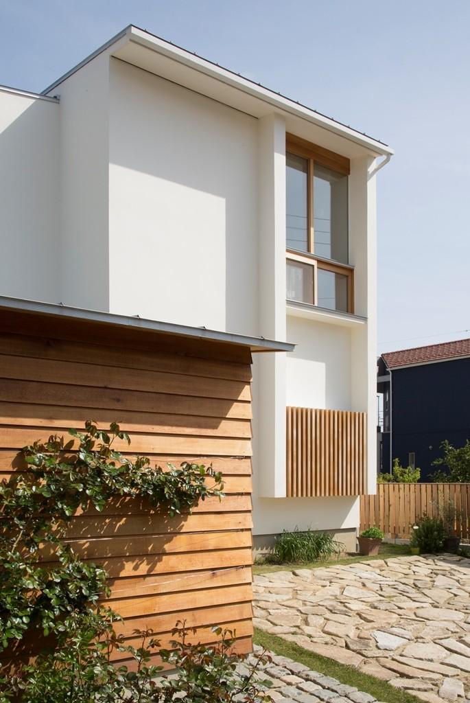 堀之内の家/北欧家具に囲まれて過ごす家 (北側外観)