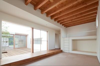 子供室 (高浜の家/中庭を囲む平屋の住まい)