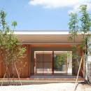 高浜の家/中庭を囲む平屋の住まいの写真 外観