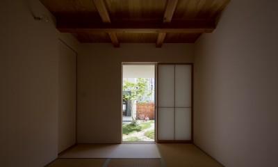 堀之内の家/北欧家具に囲まれて過ごす家 (和室)