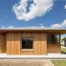 守山の家/大屋根に包まれた平屋の住まいの写真 外観