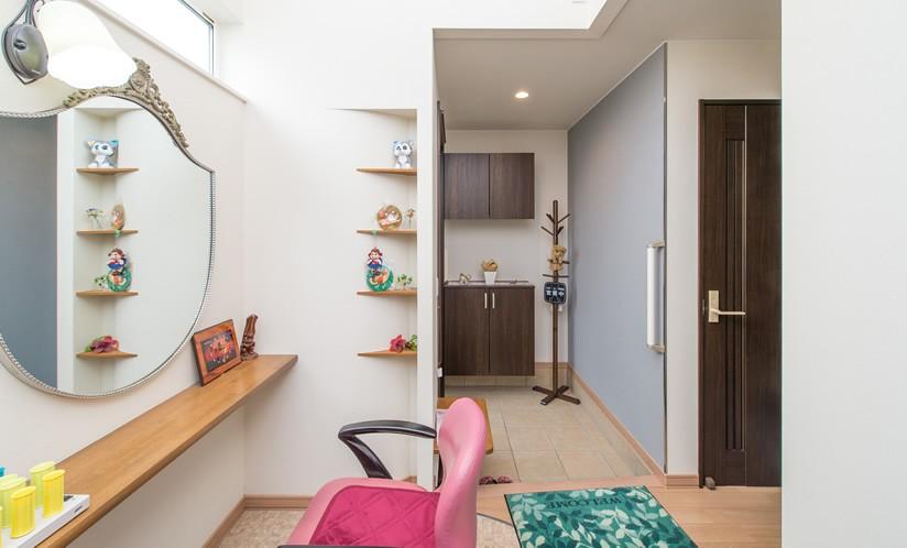 美容室 (1席だけの美容室 ~コミュニティの輪が広がる地域サロンのあたらしい形~)
