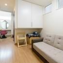 1席だけの美容室 ~コミュニティの輪が広がる地域サロンのあたらしい形~の写真 共有スペース
