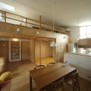 自然体で暮らす平屋~光・風・緑を取り込む家~の写真 LDK