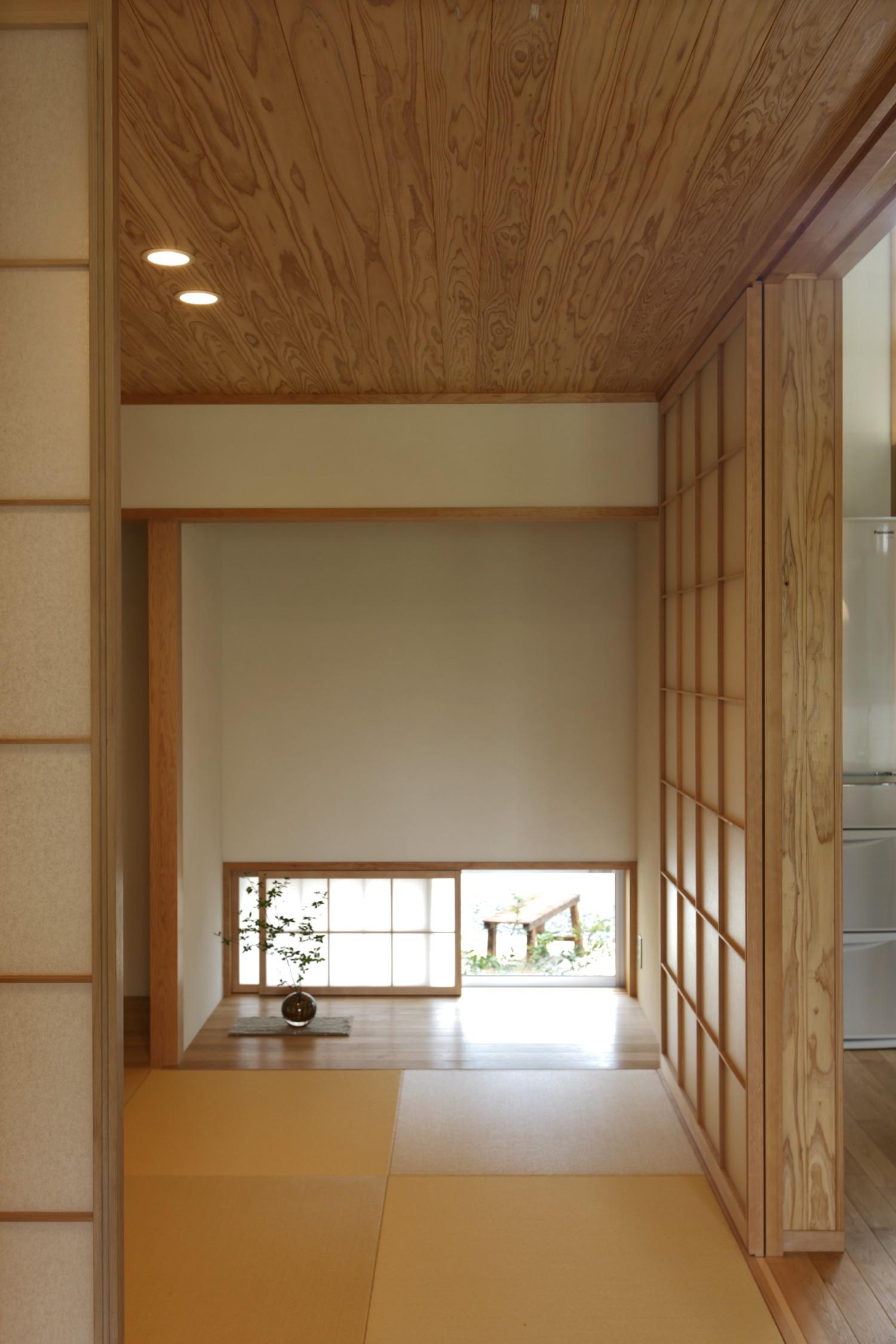 その他事例:畳スペース(自然体で暮らす平屋~光・風・緑を取り込む家~)
