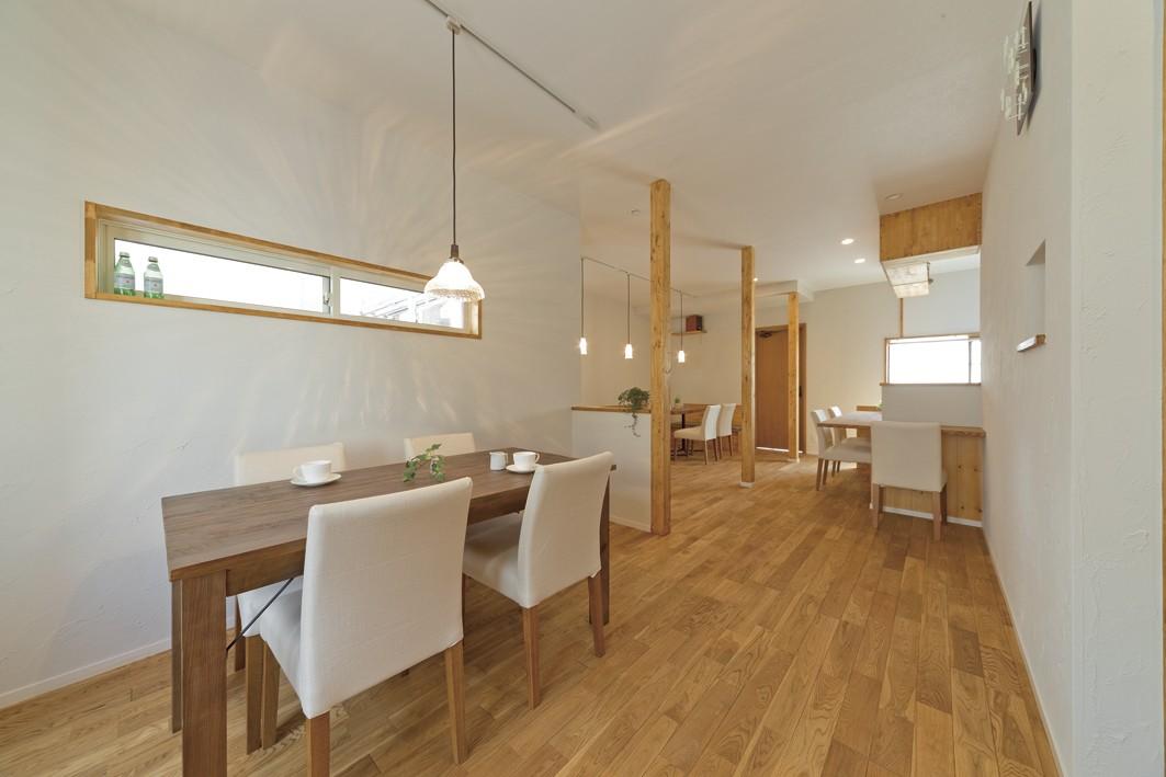 その他事例:カフェ2(大阪府Kさん邸:ナチュラル素材でほっこり優しい「自宅カフェ」)