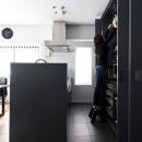 K邸- いいものは生かしながら、新しい家にする部分的リノベーションの写真 キッチン