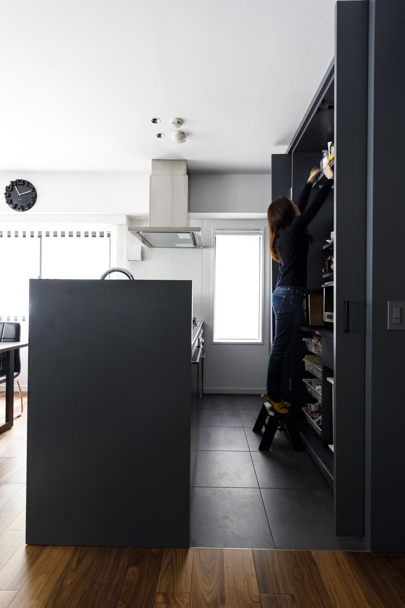 K邸- いいものは生かしながら、新しい家にする部分的リノベーション (キッチン)