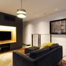 K邸- いいものは生かしながら、新しい家にする部分的リノベーションの写真 リビング