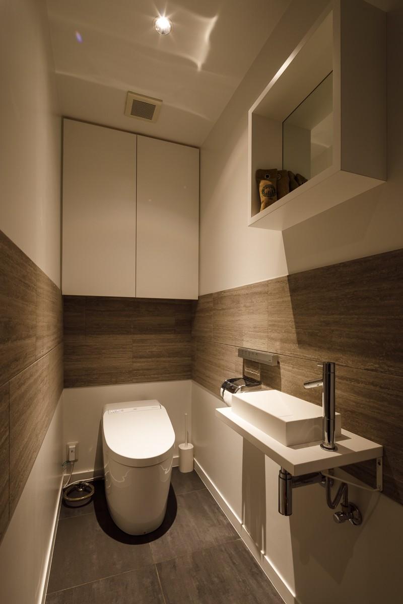 バス/トイレ事例:トイレ(K邸- いいものは生かしながら、新しい家にする部分的リノベーション)