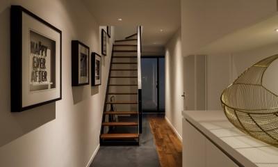 K邸- いいものは生かしながら、新しい家にする部分的リノベーション (玄関)