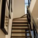 K邸- いいものは生かしながら、新しい家にする部分的リノベーションの写真 階段
