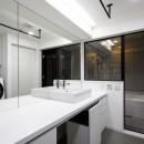 K邸- いいものは生かしながら、新しい家にする部分的リノベーションの写真 洗面所
