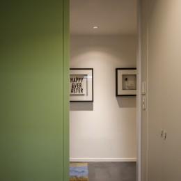 K邸- いいものは生かしながら、新しい家にする部分的リノベーション (ルームドア)