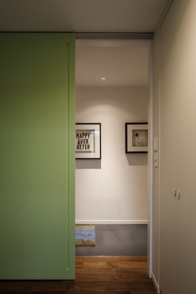 ルームドア (K邸- いいものは生かしながら、新しい家にする部分的リノベーション)