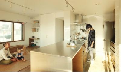 オーダーキッチン リノベーション / sante