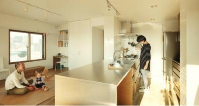 オーダーキッチン (リノベーション / sante)