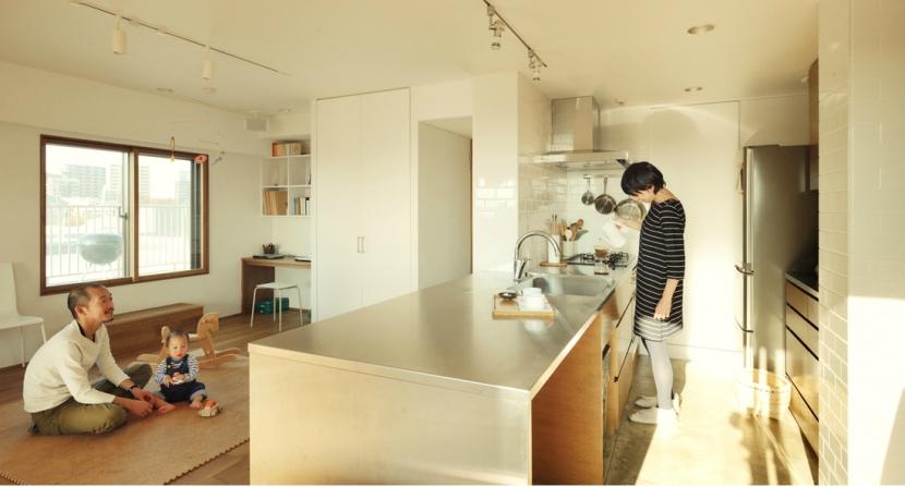 リノベーション / santeの部屋 オーダーキッチン