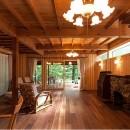 105年目の再生 ~軽井沢の伝統と北海道の技術の融合~の写真 ダイニング