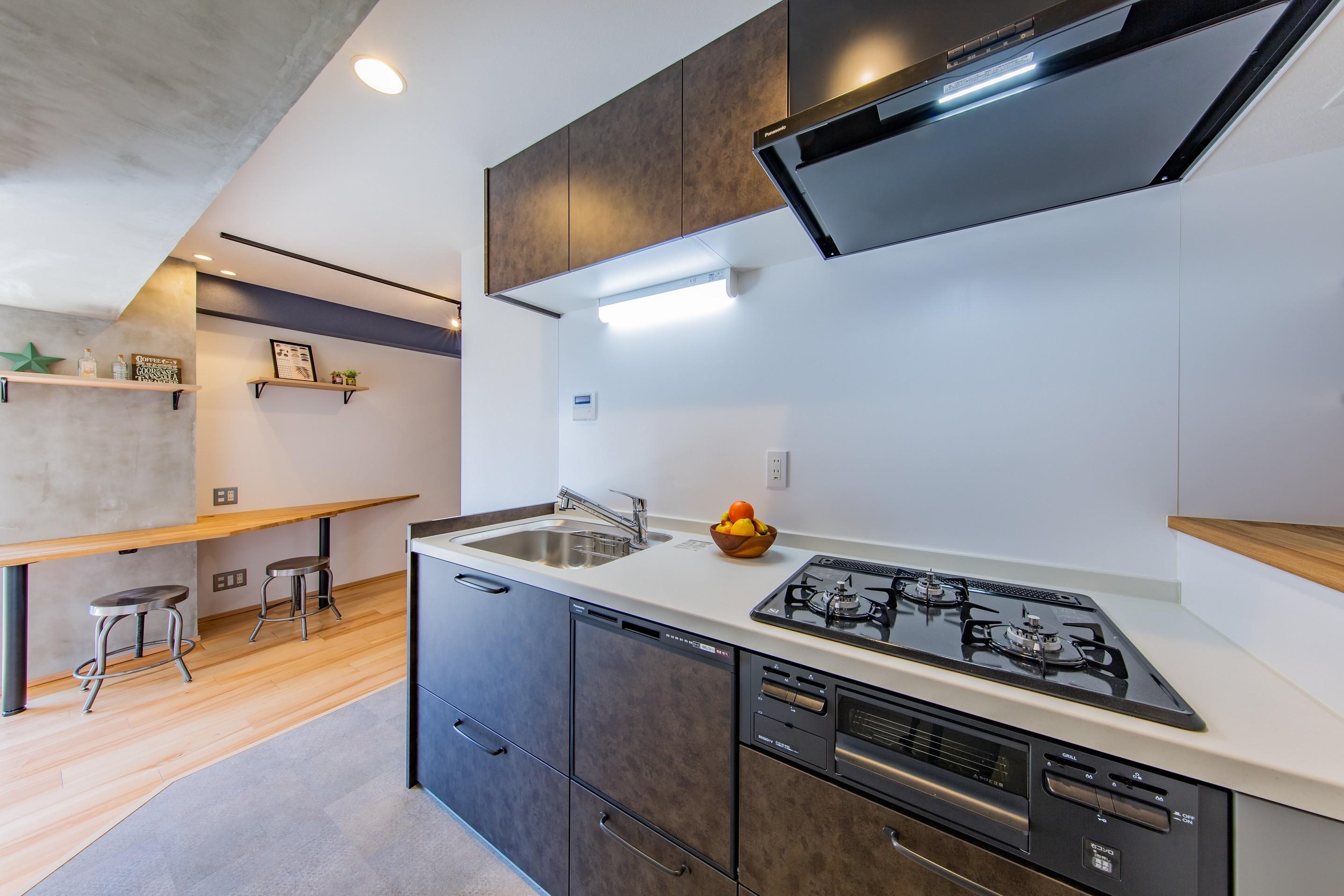 キッチン事例:キッチンスペース(~ COOL ASAKUSA ~)