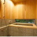 105年目の再生 ~軽井沢の伝統と北海道の技術の融合~の写真 浴室