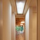 105年目の再生 ~軽井沢の伝統と北海道の技術の融合~の写真 廊下
