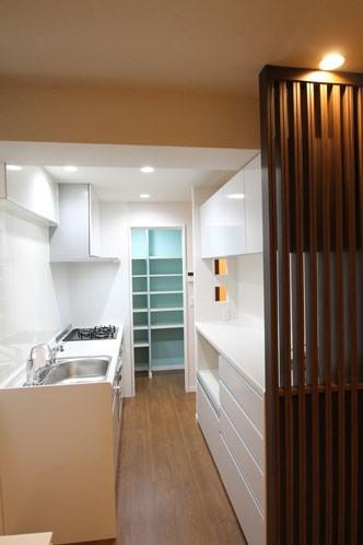 キッチン事例:キッチン(趣味を楽しむ快適空間)