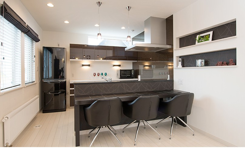キッチン事例:キッチン(自分スタイルを実現した2世帯)