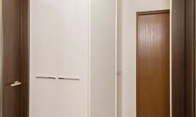 自分スタイルを実現した2世帯 (2階 ホール)