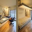 三国の長屋の写真 画室/寝室