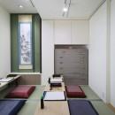 三国の長屋の写真 書道教室