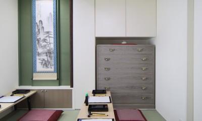 三国の長屋 (書道教室)