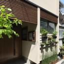三国の長屋の写真 玄関