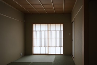 和室 (箕面 中庭のある住まい)