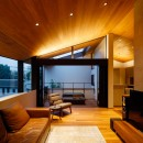 山手の家「T邸」の写真 オープンデッキ・リビングから眺める