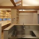 箕面 ねこと暮らす住まいの写真 キッチン