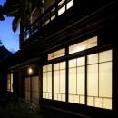 嵯峨野の離れの写真 外観夕景