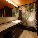 山手の家「T邸」の写真 洗面室