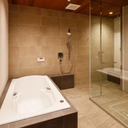 山手の家「T邸」 (浴室)