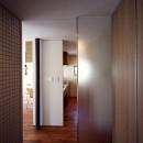 【カーサ カスバ - 親の家】 家族4世代の住まい+仕事場+賃貸住居の写真 廊下 - キッチン
