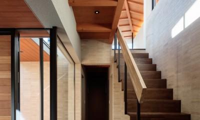 田園調布「N邸」 (階段室)
